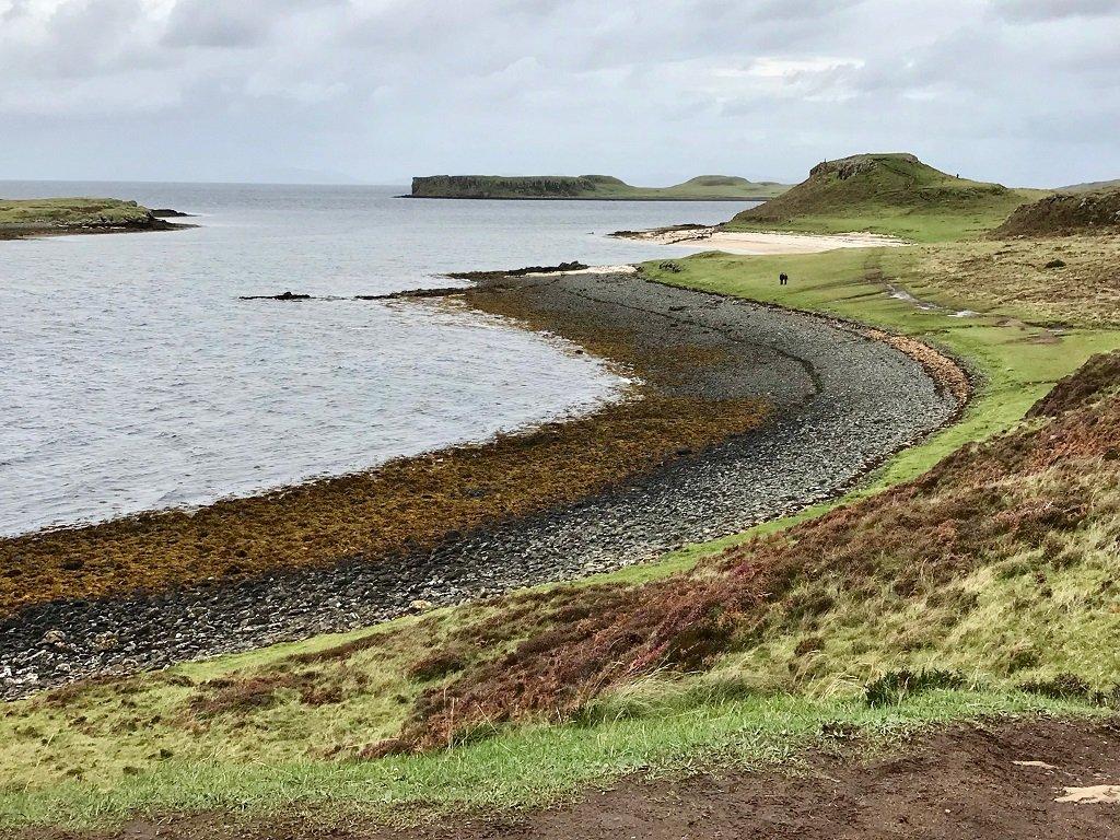 Coral Beach at Dunvegan in Scotland