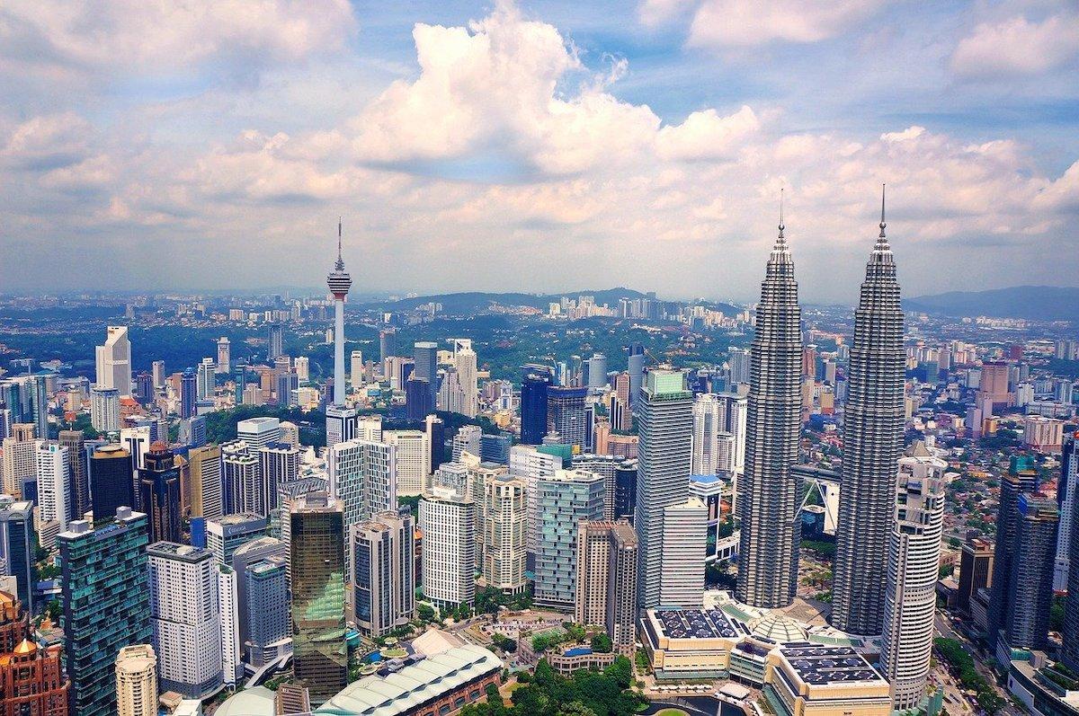 Kula Lumpur Skyline Malaysia