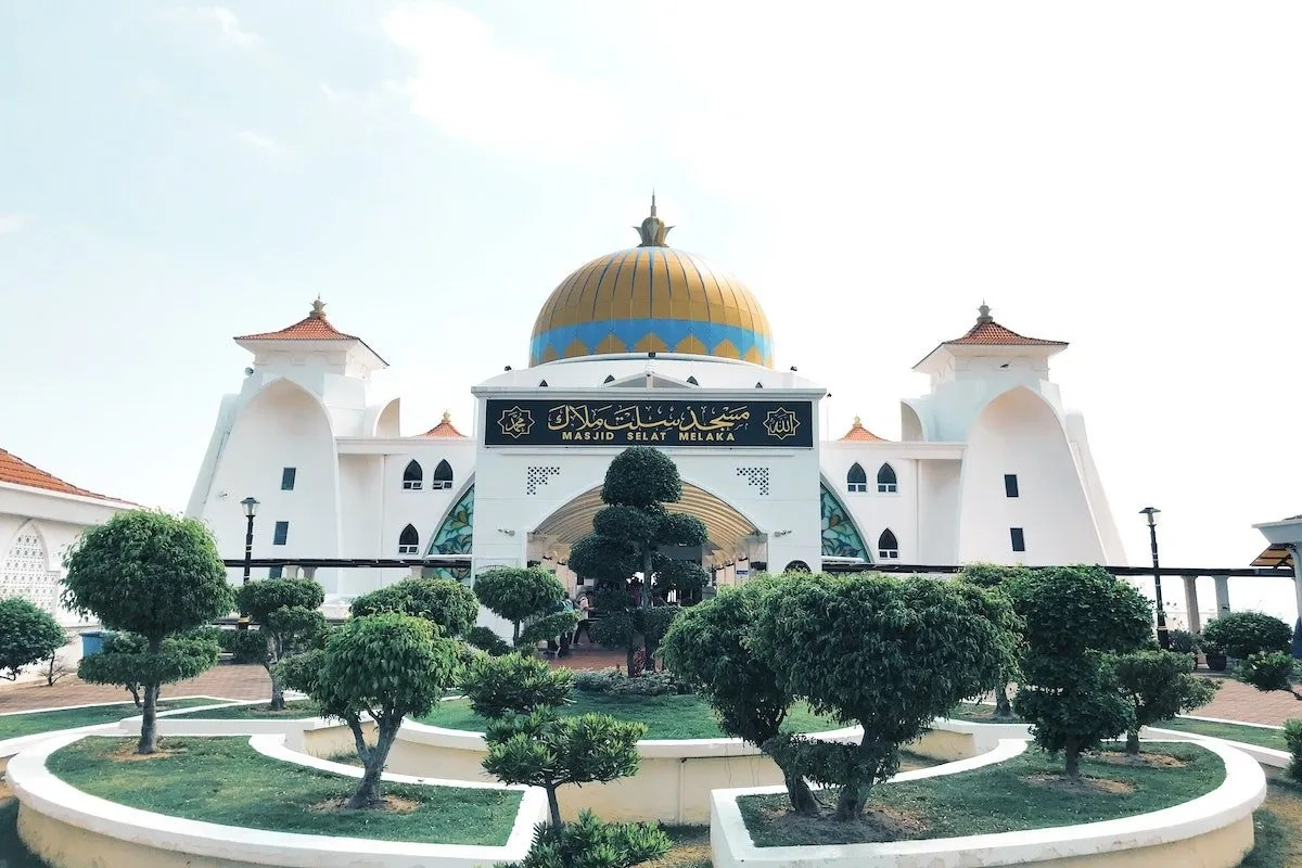 Melaka-mosque-Malaysia