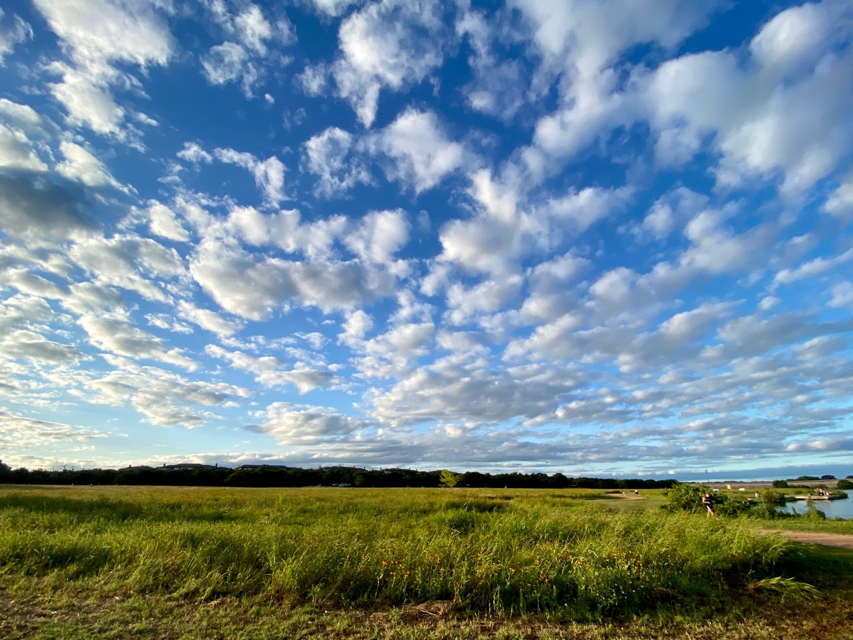 texas sky, field, beautiful