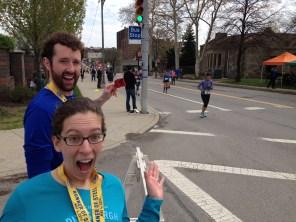Go marathoners!