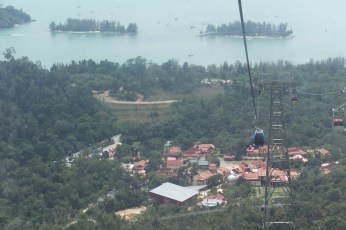 Apparently the steepest cable car in the world!