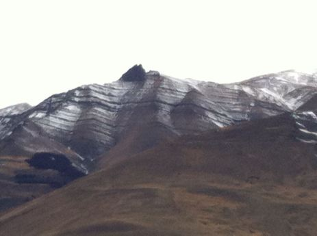 A mountain pretending to be a vienetta!
