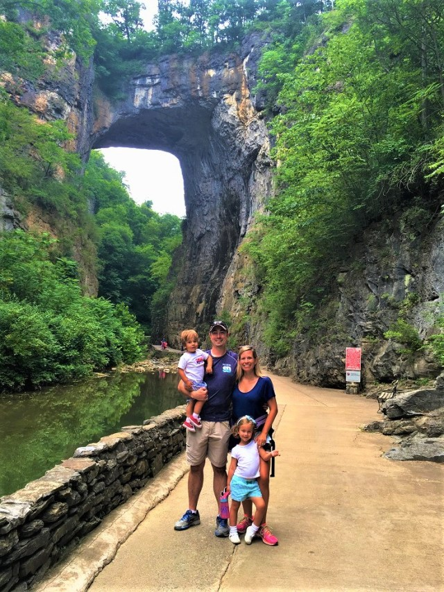 On the Cedar Creek Trail through Natural Bridge