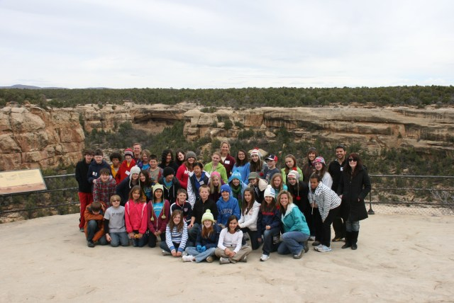 Mesa Verde in 2011 with my 6th grade students