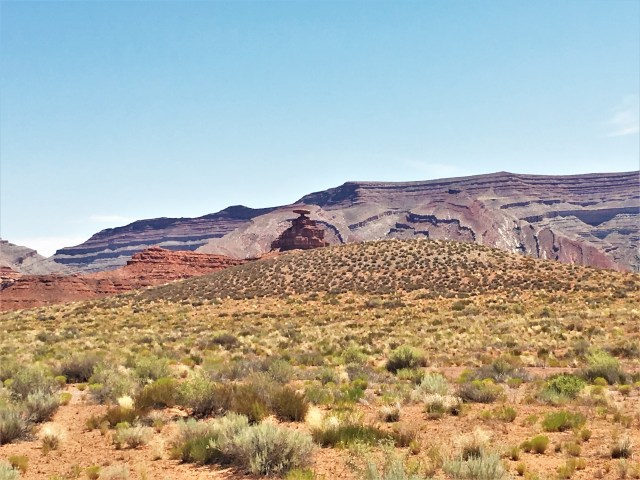 Mexican Hat Rock Formation in Utah