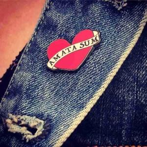 I Am Loved- Enamel Pin