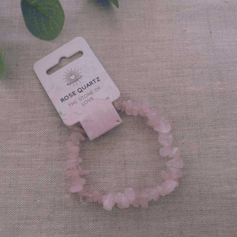 Rose Quartz Gemstone Bracelet