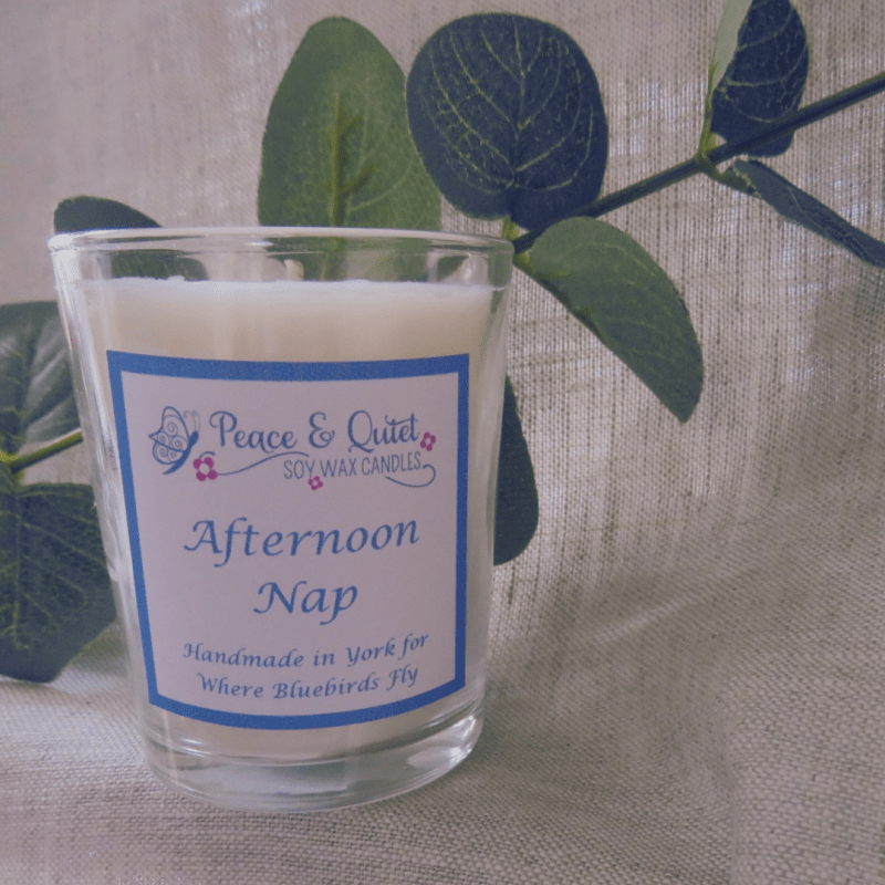 Afternoon Nap Candle, By Where Bluebirds Fly