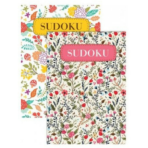 sudoku puzzle book gift care package floral designs
