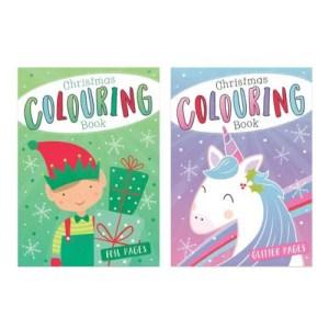 Festive Colouring Book