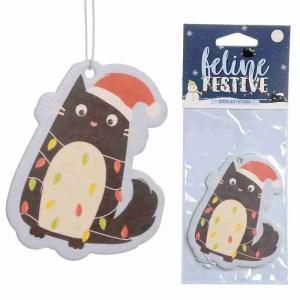 Festive Feline- Nutmeg Air Freshener