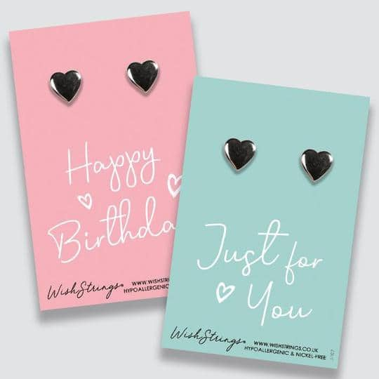 With love earrings gift card