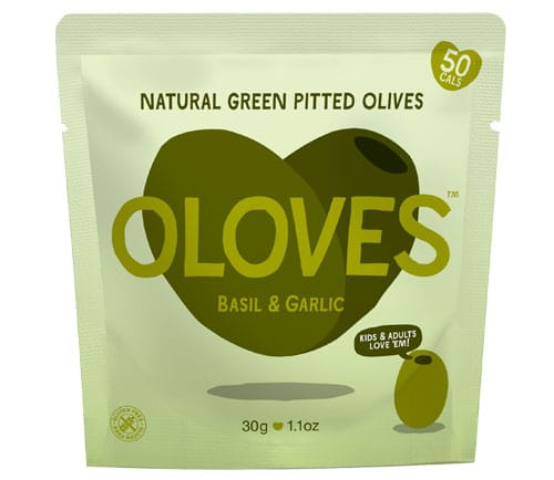 olives basil and garlic 30g pack