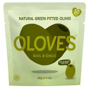 Basil and Garlic Olives
