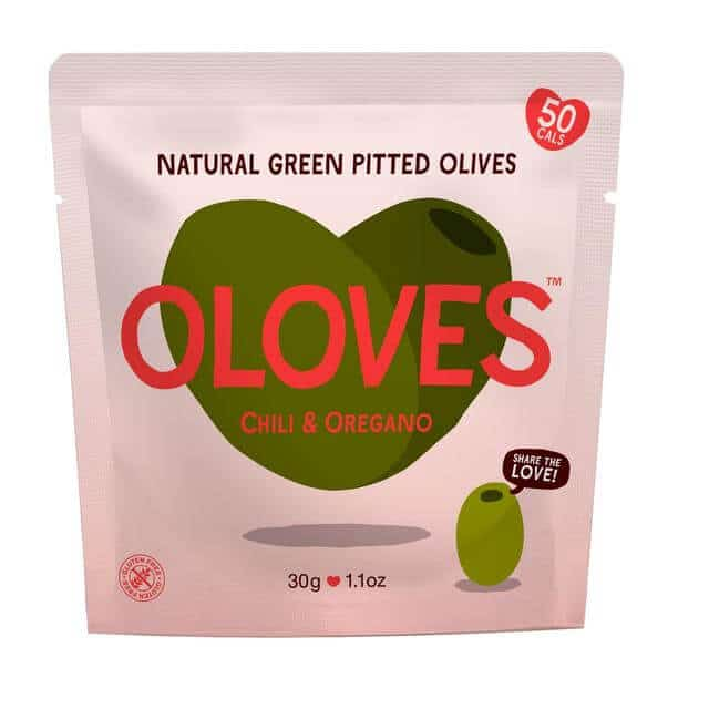 oloves Olives chili and oregano 30g