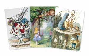 Alice in Wonderland Notebook Set