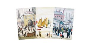 L.S. Lowry Mini Notebook Collection