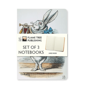Alice in Wonderland Notebook Set