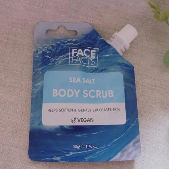 Sea Salt Body Scrub