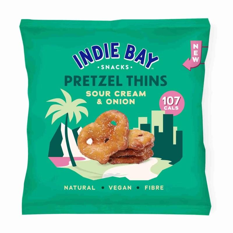 Pretzel Thins- Sour Cream and Onion