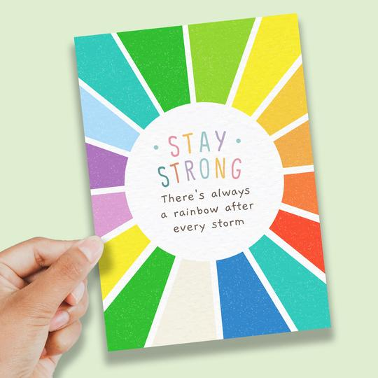 Stay Strong- A6 Print
