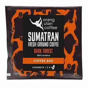Two Sumatran Coffee Bags