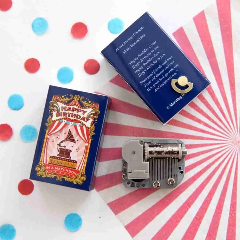 Miniature music box- Happy Birthday