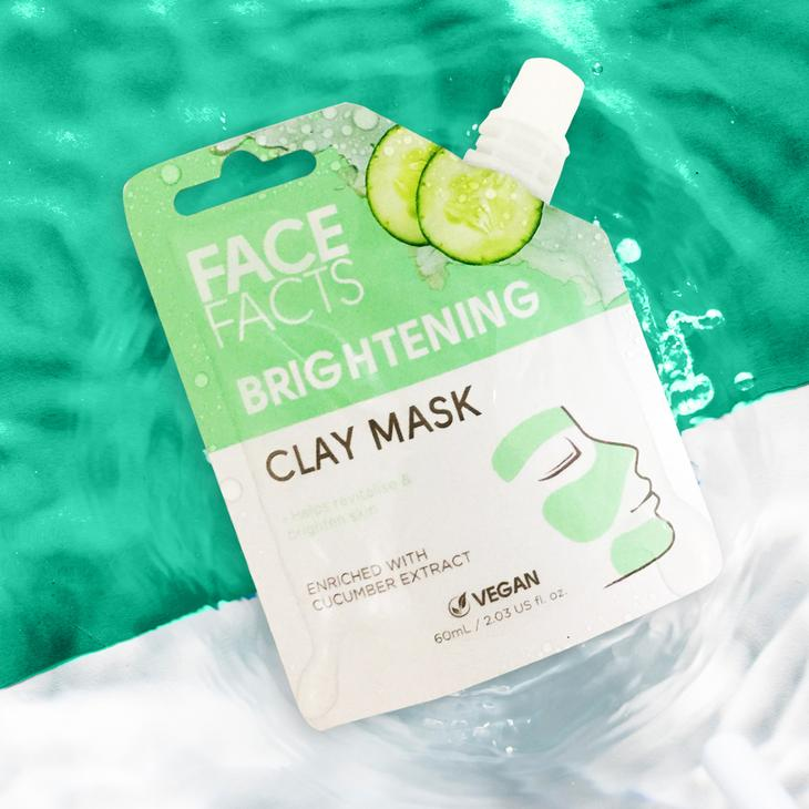 Brightening Cucumber and Clay Mask