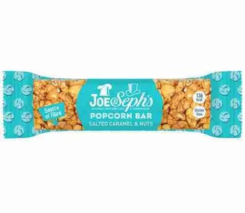 Joe & Seph's Salted Caramel & Nuts Popcorn Bar
