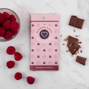 Rasberry and Rose Milk Chocolate