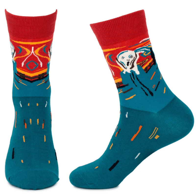Socks- The Scream by Edvard Munch