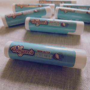 Whysee's Organic Lip Balm – Peppermint with Cocoa