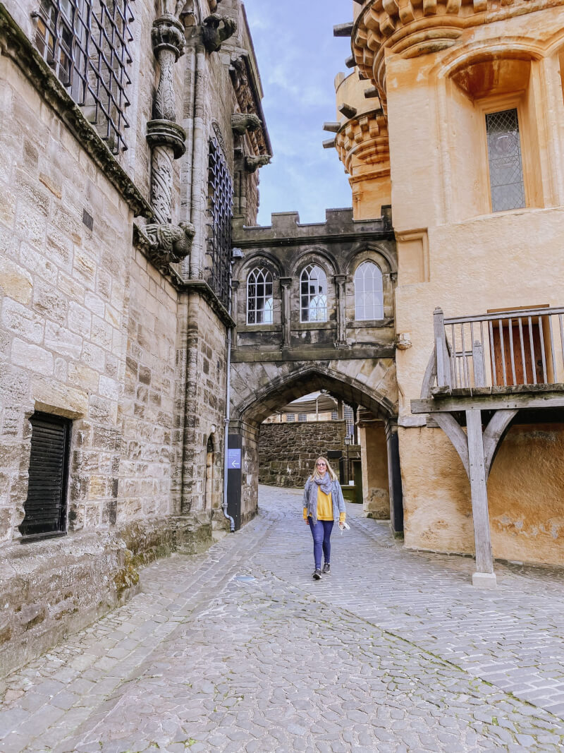 image of stirling castle on 7 day Scotland Itinerary