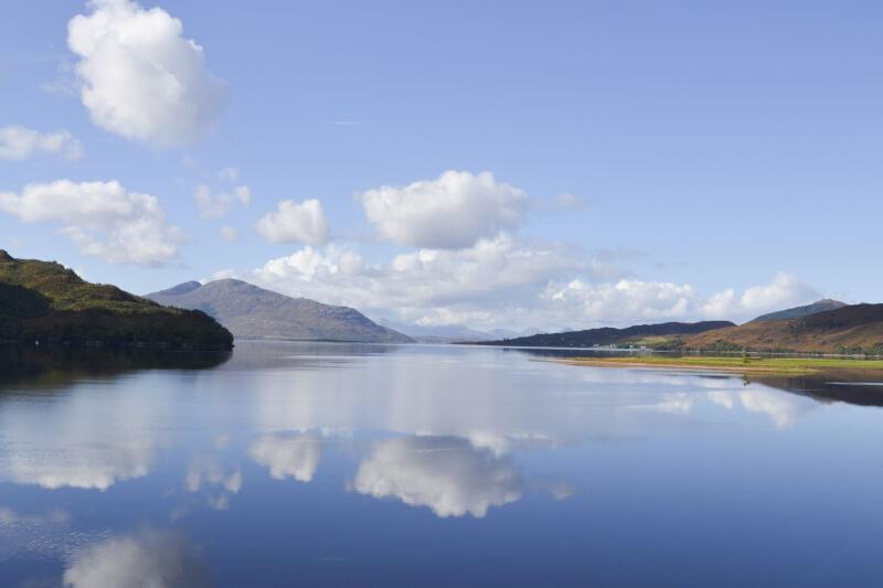 image of Loch Alsh in Scotland