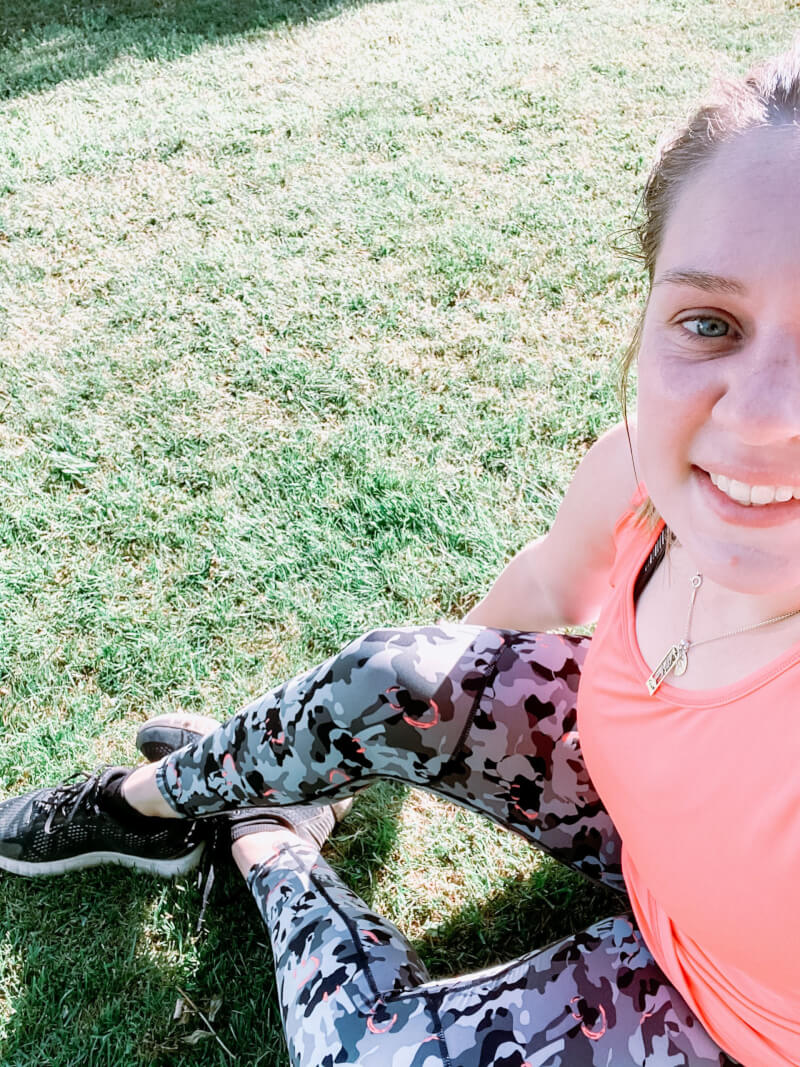 image of woman who has completed couch to 5k!
