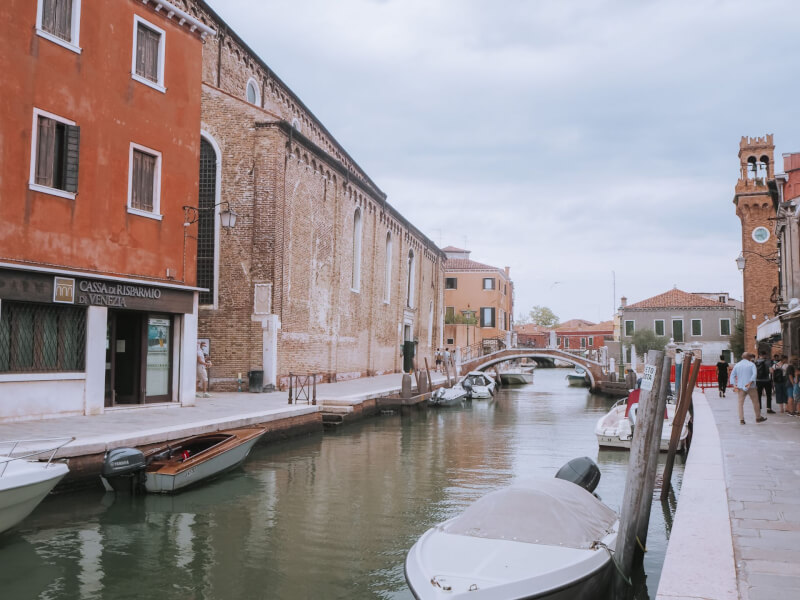 image of Murano, day trip from Venice