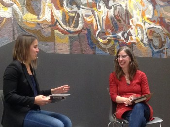 Catherine in conversation with Andrea Bellemare