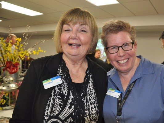 Ann with Penny-Lynn Fielding, Director, Customer and Community Engagement