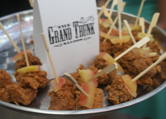 Great food from Grand Trunk Saloon