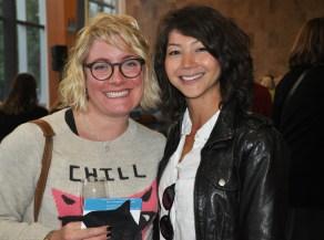 Kayleigh Platz of Communitech and writer Donna Litt