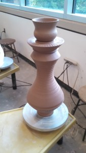 Large Scale Candlestick Holder