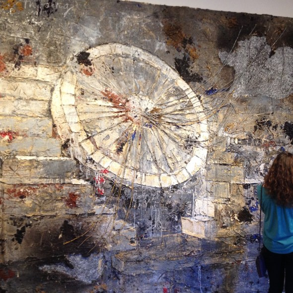 """Am Anfang"" Anselm Kiefer"