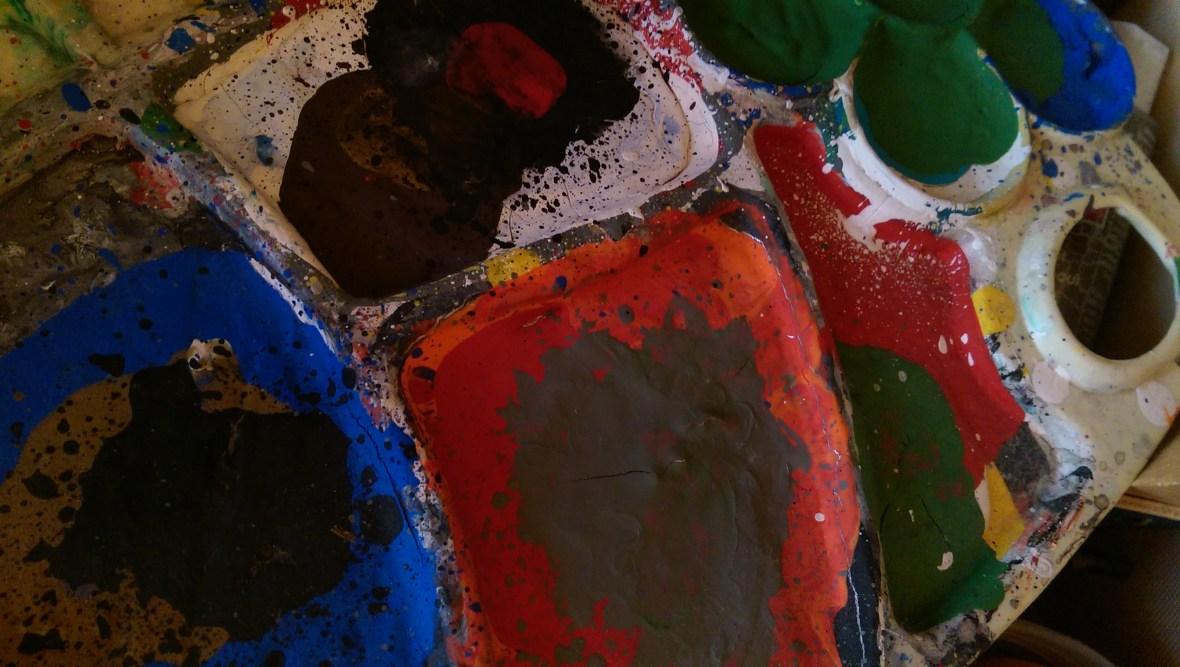 The Kid Artist's Palette