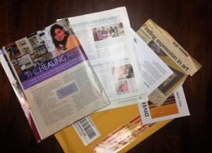 newspapers and magazine