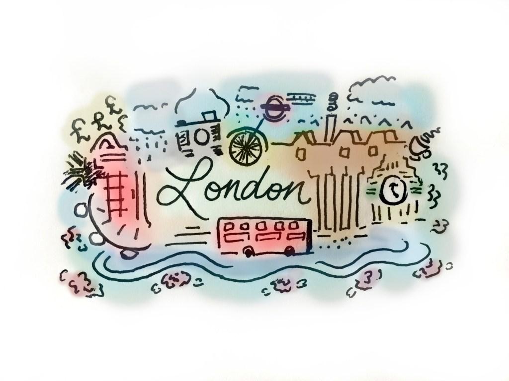 My London doodle!