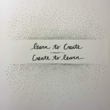 learn to create and create to learn