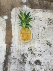 Rachel's pineapple sticker