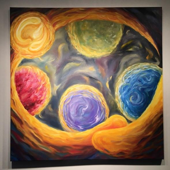 Held Energy Painting