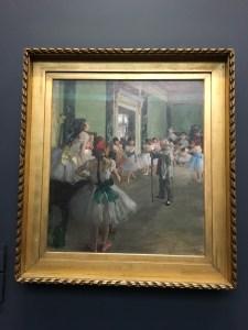 Edgar Degas, The Ballet Class